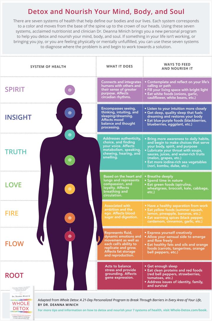 The Spectrum Quiz - Whole Detox by Dr  Deanna Minich